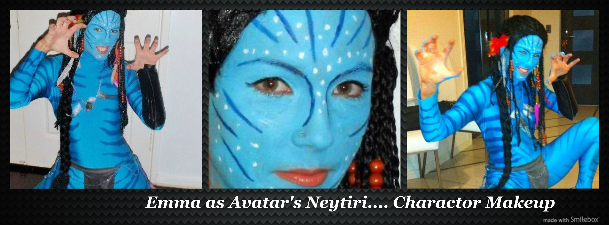 Emma as Nytiri (Avatar) - Face Painting